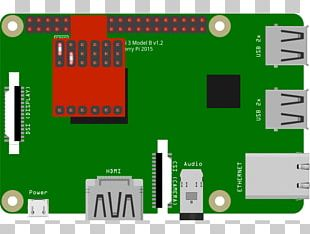 Raspberry Pi 3 General-purpose Input/output Universal Asynchronous Receiver-transmitter Sensor PNG