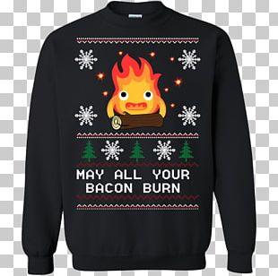 Long-sleeved T-shirt Hoodie Christmas Jumper PNG