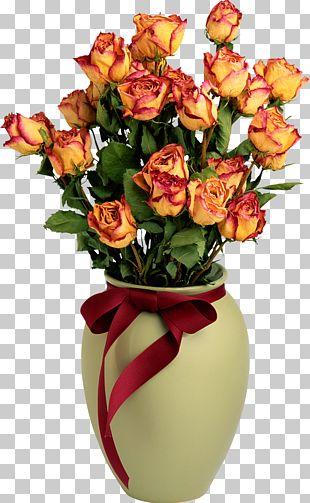 Rose Flower Delivery Vase Floristry PNG