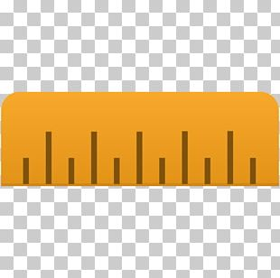 Yellow Orange Line Font PNG