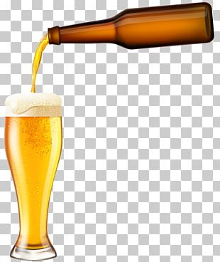Beer Glasses Low-alcohol Beer Drink Beer Bottle PNG