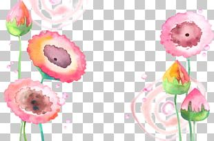 Watercolor: Flowers Watercolor Painting PNG