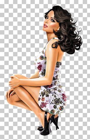 Pin-up Girl Woman PNG