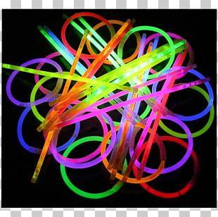 Glow Stick Light Party Favor Phosphorescence PNG