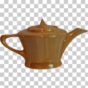Teapot Kettle Ceramic Pottery Lid PNG
