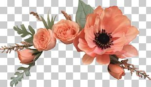 Garden Roses Flower Wreath Crown PNG
