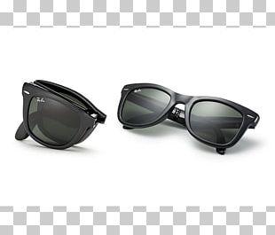Ray-Ban Wayfarer Folding Flash Sunglasses Ray-Ban Original Wayfarer Classic PNG