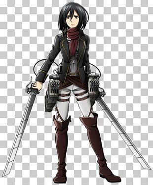 Mikasa Ackerman Eren Yeager Attack On Titan Armin Arlert Rendering PNG