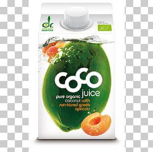 Coconut Water Organic Food Juice Drink PNG