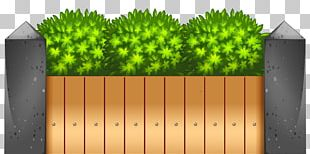 Picket Fence Garden PNG