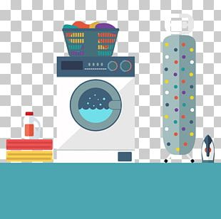 Washing Machine Laundry Towel Bed Sheet PNG