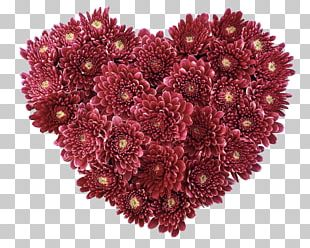 Flower Heart Love Valentines Day PNG