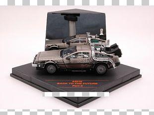 Model Car Back To The Future DeLorean Time Machine Automotive Design PNG