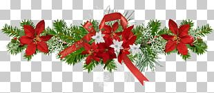 Christmas Ornament Gift Flower New Year PNG