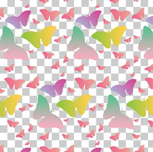 Butterfly Euclidean Shading PNG