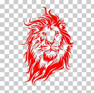 Lion Wall Decal Tiger Sticker PNG