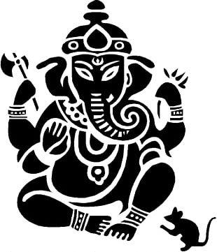 Shiva Ganesha Tattoo Symbol Om PNG