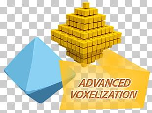 Voxel Three-dimensional Space 3D Computer Graphics Rendering PNG