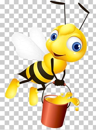 Western Honey Bee Insect Graphics Bumblebee PNG