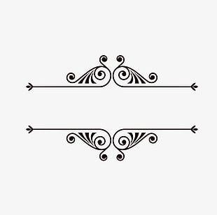 Decorative Lines PNG