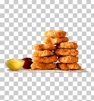 Burger King Chicken Nuggets Buffalo Wing French Fries Chicken Fingers PNG