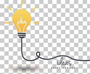 Idea Creativity Concept Incandescent Light Bulb PNG