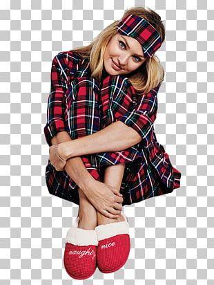 Candice Swanepoel Tartan Victoria's Secret Pajamas Clothing PNG