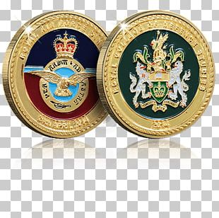 Challenge Coin Commemorative Coin Medal Royal Air Force PNG