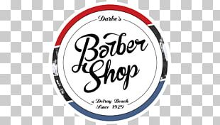 Darbe's Barber Shop Of Delray Beach Beauty Parlour Hairstyle Logo PNG