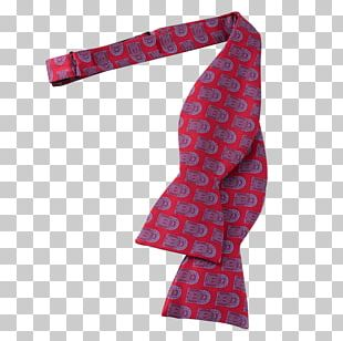 White House Bow Tie Necktie Scarf Red PNG
