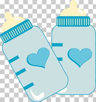 Baby Shower Infant Child Party Baby Bottles PNG