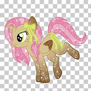 Horse Cartoon Pink M RTV Pink PNG