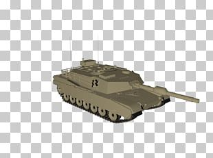 Churchill Tank Self-propelled Artillery Gun Turret PNG