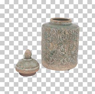 Vase Ceramic Pottery Lid Urn PNG