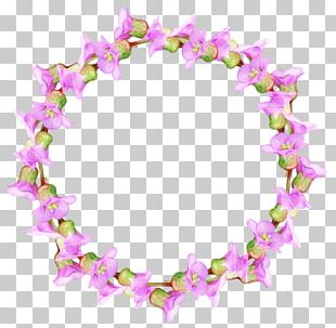 Watercolor Painting Floral Design Flower Wreath PNG