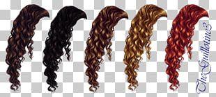 Brown Hair Wig Blond PNG