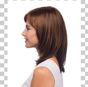 Layered Hair Bob Cut Wig Box Braids Hair Coloring PNG
