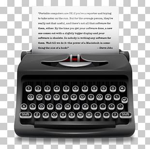 Royal Typewriter Company Paper PNG