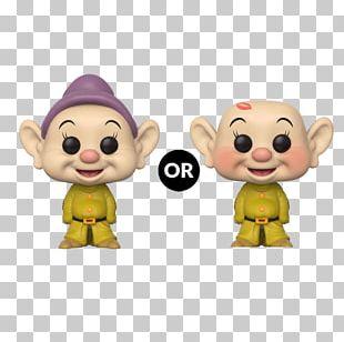 Dopey Seven Dwarfs Bashful Sneezy Funko PNG