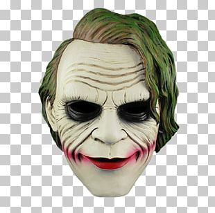 Joker Mask The Dark Knight Batman PNG