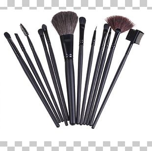 Cosmetics Makeup Brush Face Powder Eye Shadow PNG