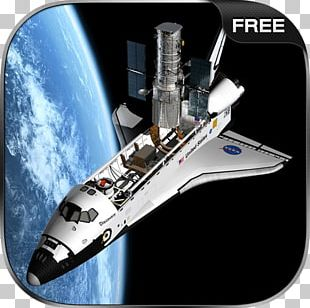 Space Shuttle Simulator Free Hubble Space Telescope Satellite Space Exploration PNG