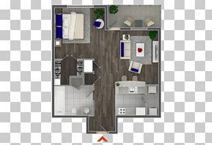 Studio Apartment House Floor Plan Bedroom PNG