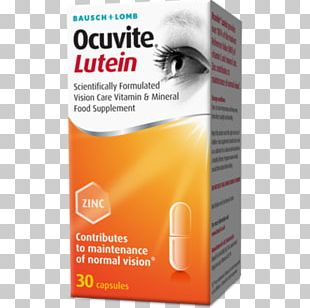 Dietary Supplement Bausch & Lomb Lutein Vitamin Bausch + Lomb Biotrue ONEday PNG