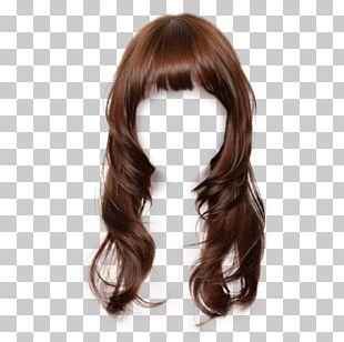 Brown Hair Wig Hairstyle Long Hair Hair Coloring PNG
