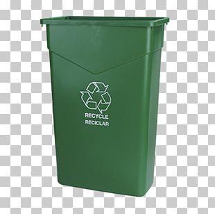 Recycling Bin Rubbish Bins & Waste Paper Baskets Plastic PNG