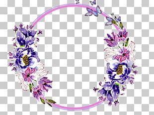 Floral Design Garland Flower Wreath Lei PNG