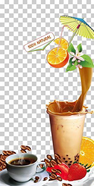 Juice Coffee Drink Bubble Tea PNG