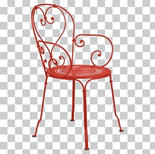 Table Garden Furniture Chair Fauteuil Wrought Iron PNG