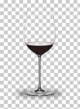 Wine Glass Riedel Bordeaux Wine PNG